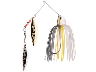 Strike King Burner Double Willow Spinnerbait 3/8oz Sexy Shad Gold/Nickel