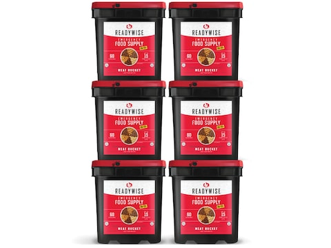 ReadyWise 360 Serving Meat Freeze Dried Food Kit