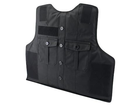 BulletSafe Bulletproof Vest Uniform Front Carrier Black