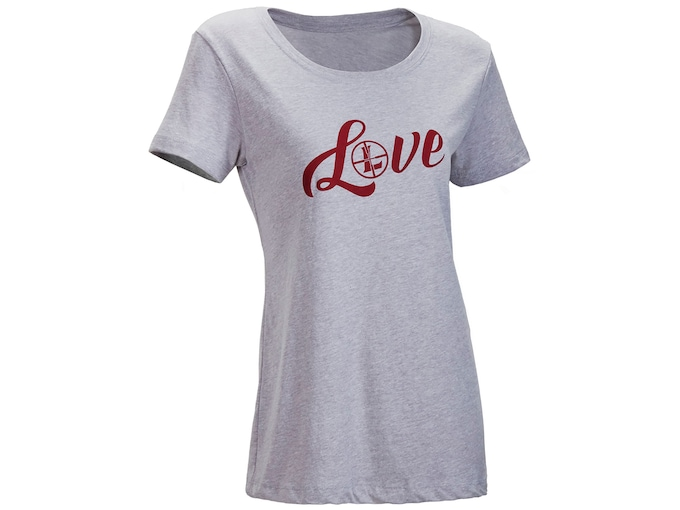 Leupold Women's Love Scoop Neck T-Shirt Short Sleeve Cotton/Poly