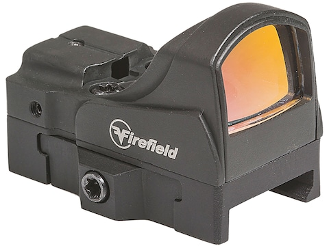 Firefield Impact Mini Reflex Red Dot Sight 1x 5 MOA Dot Weaver-Style 45 Degree Mount Matte