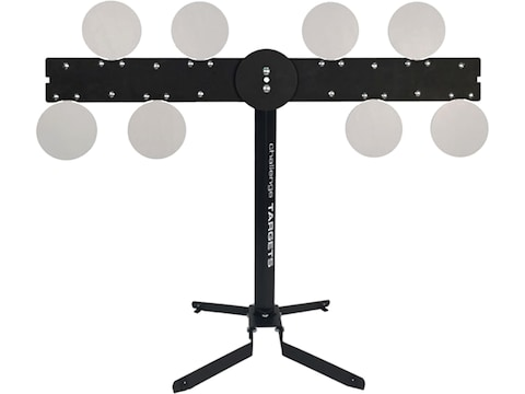 """Challenge Targets Commercial Grade Revolving Plate Rack Rifle Rated 3/8"""" AR500 Steel"""