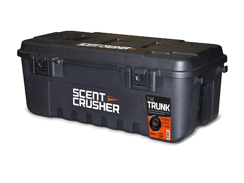 Scent Crusher The Trunk Hard Sided Tote with Halo Series Ozone Generator Polymer Black