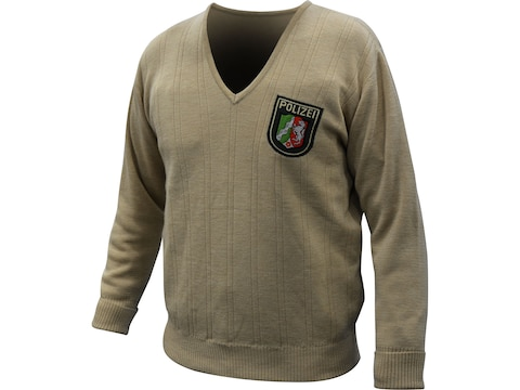Military Surplus German Police Sweater V-Neck