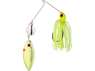 Strike King Red Eyed Special Tandem Spinnerbait 3/8oz Chartreuse Silver/Chart