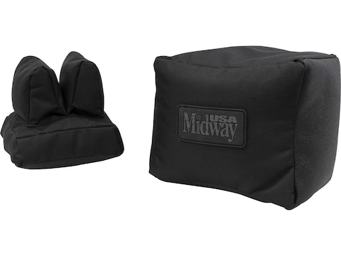 MidwayUSA Front and Rear Shooting Rest Bag Set Filled