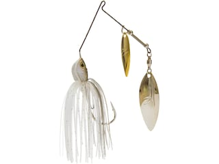 Z-Man Slingbladez Double Willow Spinnerbait 3/4oz Clearwater Shad Nickel