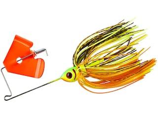 BOOYAH Pond Magic Buzz Buzzbait 1/8oz Fire Bug