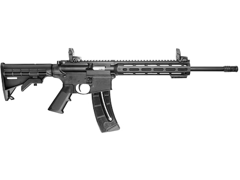 "Smith & Wesson M&P 15-22 Sport Rifle with Magpul MBUS Sights 22 Long Rifle 16.5"" Barrel..."