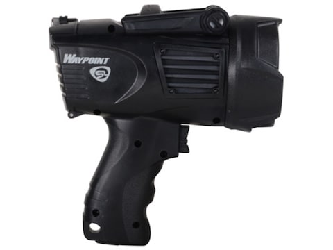 Streamlight WayPoint Spotlight LED requires 4 C Batteries or included 12 Volt DC Power ...