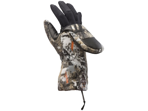 Sitka Gear Incinerator Insulated Flip Mitts Polyster Gore Optifade Elevated II Camo
