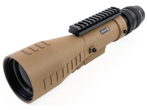Athlon Optics Cronus Tactical Spotting Scope 7-42x 60mm Straight Body Ranging Reticle Tan