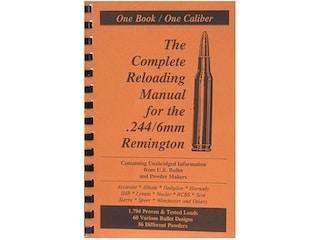 Loadbooks USA 6mm Remington Reloading Manual