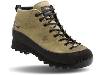 "Crispi Monaco GTX 6"" GORE-TEX Hiking Boots Leather Nutria Men's 10.5 D"