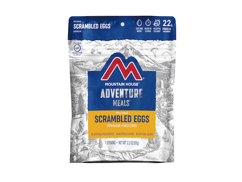 Mountain House Scrambled Eggs Bacon Gluten Free Freeze ...