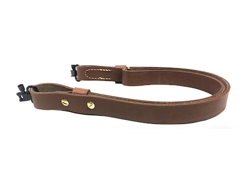 "Hunter Quick-Fire Sling 1"" Wide Leather Brown"