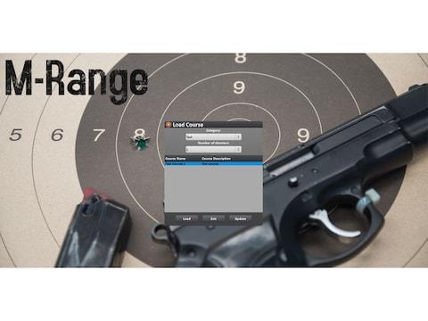 Laser Ammo Marksmanship Range Laser Trainer Shooting Simulator Add-on Software