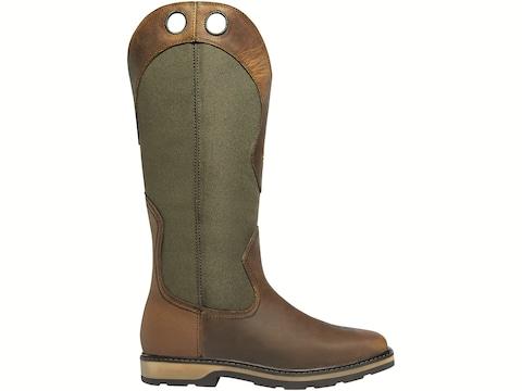 """LaCrosse Snake Country 17"""" Pull-On Snake Boots Full-Grain Leather Men's"""