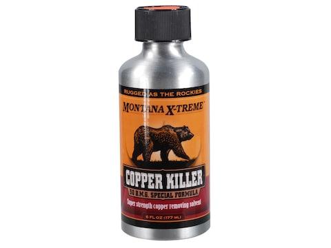 Montana X-Treme Copper Killer Bore Cleaning Solvent 20 oz Liquid