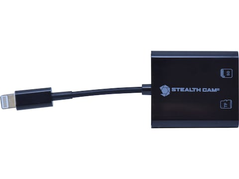 Stealth Cam Micro USB SD Card Reader for Apple Devices