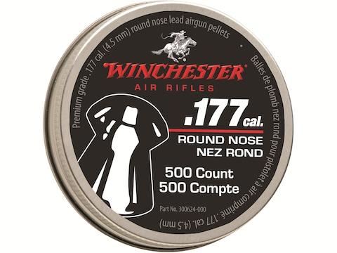 Winchester Air Gun Pellets 177 Caliber 9.7 Grain Hollow Point Pellets Tin of 500