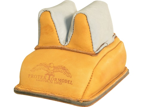 Protektor Super Slick Silver Rabbit Ear Rear Shooting Rest Bag with Heavy Bottom Leathe...