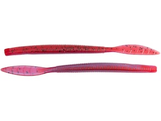 """Missile Baits 6.5"""" Quiver Worm Cherry Blossom"""