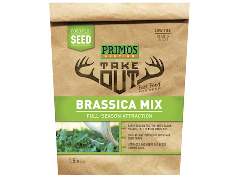 Primos Take Out Brassica Blend Food Plot Seed 1.5 lb Bag