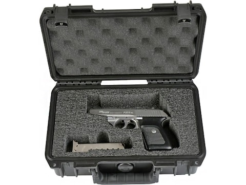 "SKB iSeries 1006 Custom Single Pistol Case 10.75"" Polymer Black"