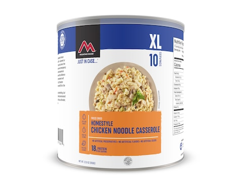 Mountain House Homestyle Chicken Noodle Casserole Freeze Dried Food Can 10 Serving