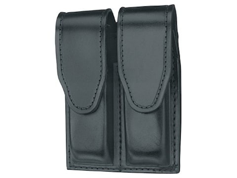 Gould & Goodrich B629 Double Magazine Pouch Leather Black