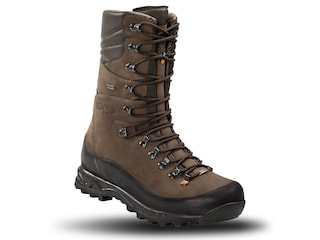 """Crispi Hunter GTX 12"""" Insulated Hunting Boots Leather Brown Men's 8.5 D"""