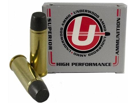 Underwood Ammunition 454 Casull 360 Grain Lead Long Wide Nose Gas Check Box of 20