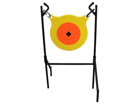 """Birchwood Casey Boomslang Target System 9.5"""" Gong 1/2"""" AR500 Steel Yellow"""