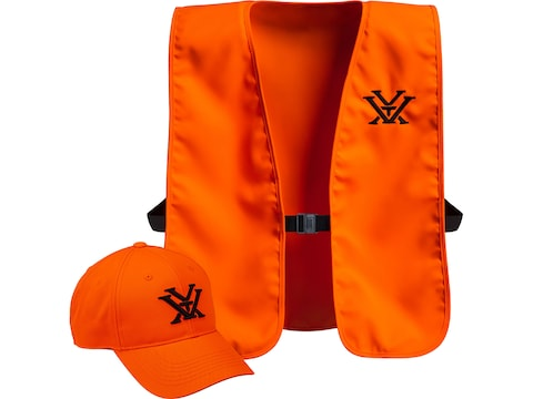 Vortex Optics Men's Vest and Cap Combo Blaze One Size Fits Most