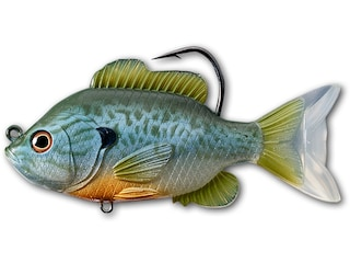 "LIVETARGET Sunfish 3.5"" Swimbait Natural/Blue Pumpkinseed"