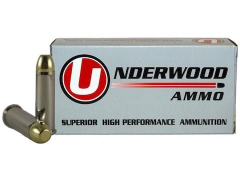 Underwood Ammunition 38 Special +P 125 Grain Full Metal Jacket Box of 50