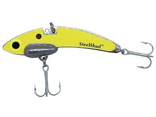 Steel Shad Mini Series Blade Bait Yellow Shad 2 Pack