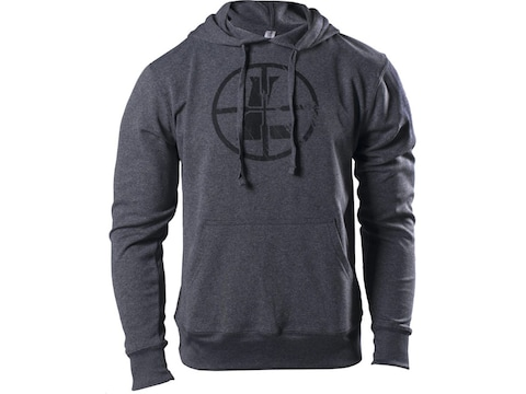 Leupold Men's Distressed Reticle Hoodie Polyester/Cotton
