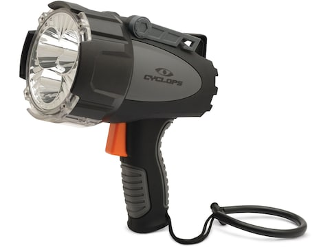 Cyclops Revo 6000 Spotlight with Rechargeable 18650 Batteries Polymer Black