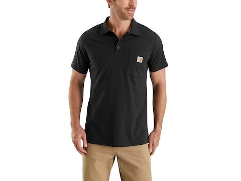 Carhartt Men's Force Delmont Polo Short Sleeve