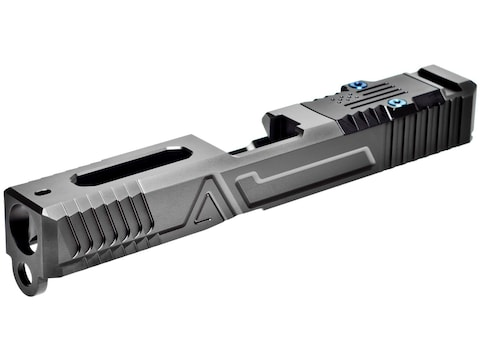 Agency Arms Hybrid Slide with Agency Optics System (AOS) Glock 17 Gen 3 Stainless Steel...