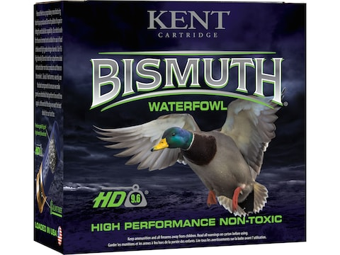 Kent Bismuth High Performance Non-Toxic Waterfowl Ammunition 12 Gauge Bismuth Non-Toxic...