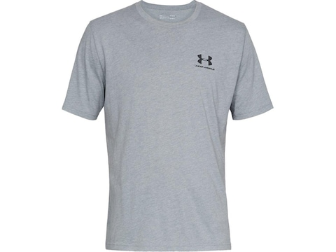 Under Armour Men's UA Sportstyle Left Chest Short Sleeve T-Shirt Cotton/Poly