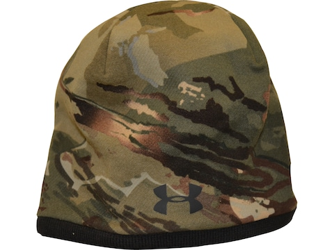 Under Armour Men's UA Reversible Camo Beanie Polyester Forest All Season
