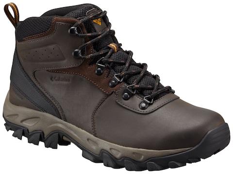 "Columbia Newton Ridge Plus II 5"" Hiking Boots Leather Men's"