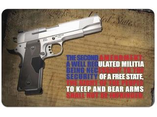 Tekmat Handgun Right to Bear Arms Gun Cleaning Mat