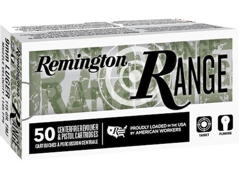 Remington Range Ammunition 9mm Luger 115 Grain Full Metal Jacket