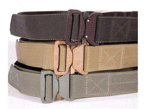 """CrossTac D-Belt II Tactical Belt 1-3/4"""" Steel Buckle Nylon"""