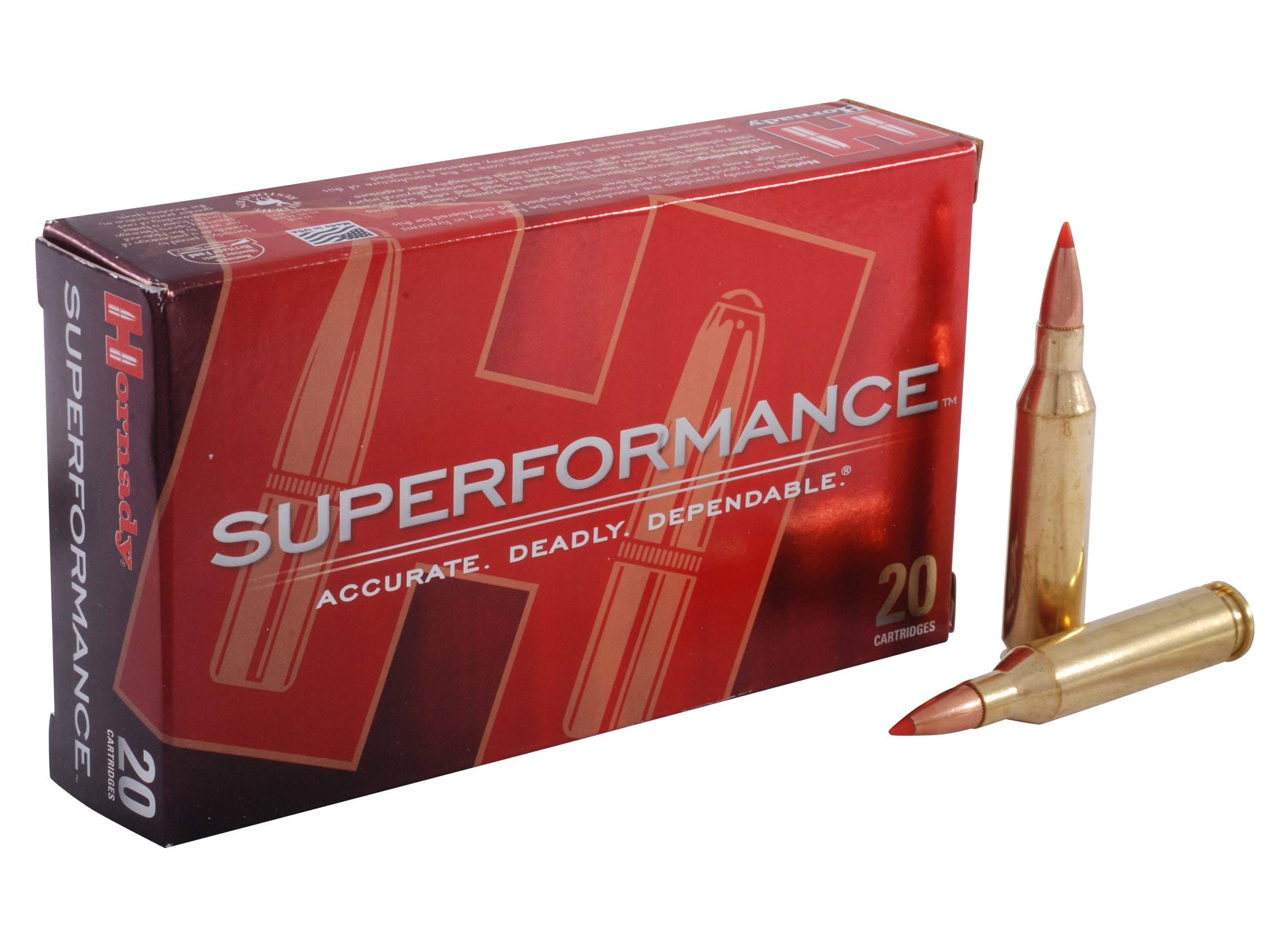 Hornady Superformance SST Ammo 243 Winchester 95 Grain SST Box of 20